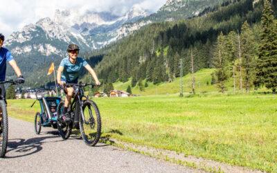 La ciclabile delle Dolomiti: Val di Fassa e Fiemme